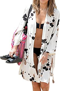 Women Pool Swimwear Beach-Suit Bikini Cover ups Sarong Bohemia Tassel Kimono Boho Gown Dress