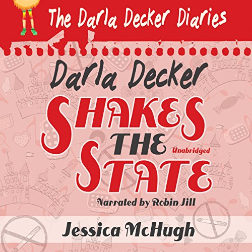 Darla Decker Shakes the State audiobook cover art