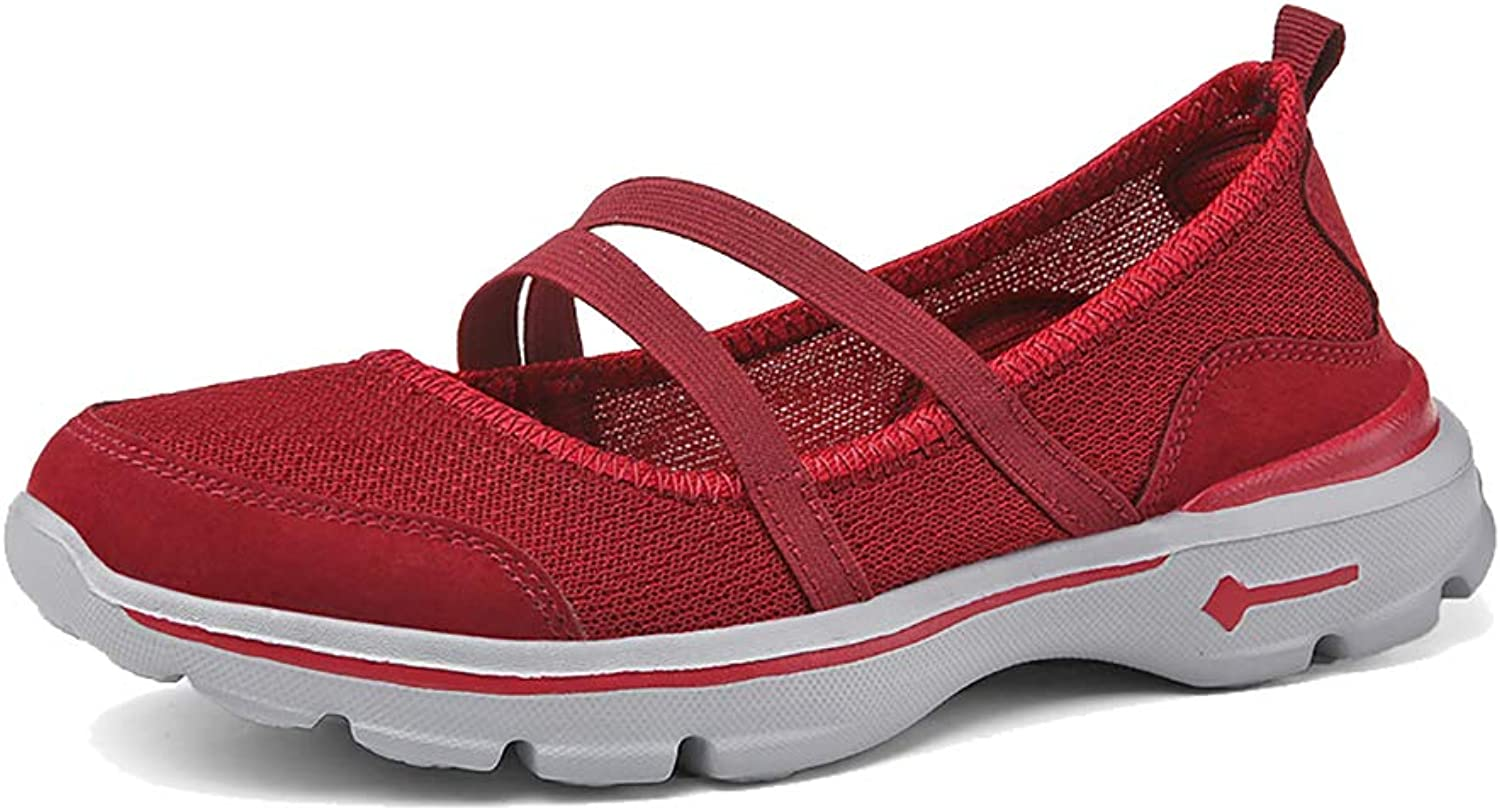 Womens Ladies Casual shoes,Outdoor Casual Walking Sandals Lightweight Breathable Slip Shock Absorption