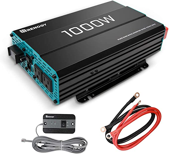 Renogy 1000W 12V Solar Inverter - Converter 1000W