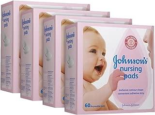 Johnson's Nursing Pads - Contour - 60 ct - 4 pk