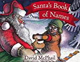 Santa's Book of Names Picture book