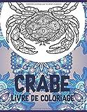 Crabe - Livre de coloriage 🦀