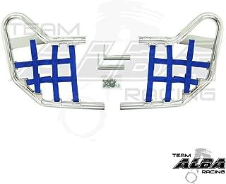 Yamaha YFZ 450 (2004-2009) (2012-2013) Standard Nerf Bars Silver w/Blue Net