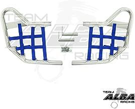 Yamaha Blaster YFS 200 (1988-2006) Standard Nerf Bars Silver w/Blue Net