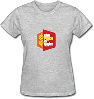Gao-Tshirt Women's The Price is Right TV Game Show Short Sleeve T Shirts