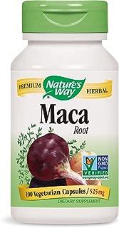 Nature's Way Maca Root, 100 Capsules (Pack of 2)