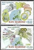 Prophila Collection San Marino 1980-1981 (Completa.edición.) 2001 introducción del Euros (Sellos para los coleccionistas) Moneda en Sello