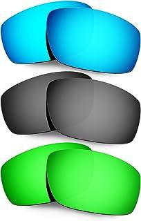 Hkuco Plus Mens Replacement Lenses For Oakley Splinter - 3 Pair