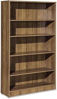 Lorell Essentials Series Walnut Laminate Bookcase - 36