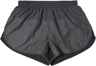 Mens Supernova Split Shorts Charcoal Grey