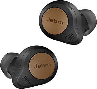 Jabra Elite 85t True Wireless Earbuds with Active Noise Cancellation, Wireless Charging, Charging case - Copper Black