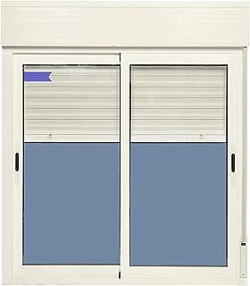 comprar comparacion Ventana Aluminio Corredera Con Persiana PVC 1200 ancho × 1355 alto 2 hojas