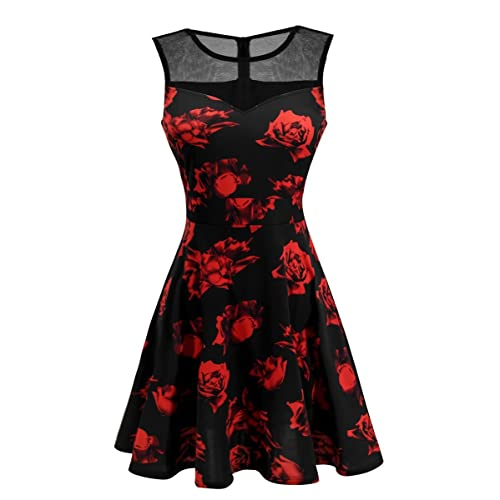 aesthetic appearance superior performance great discount for Black and Red Formal Dress: Amazon.com