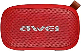 Awei Y900 Bass Wireless Bluetooth Speaker with Mic and strap (NFT) - Red