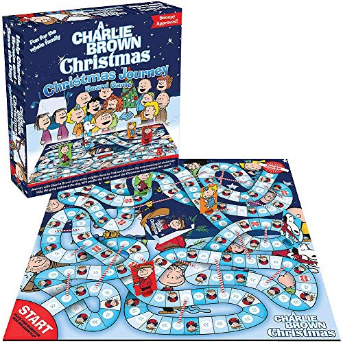 Peanuts A Charlie Brown Christmas Christmas Journey Board Game