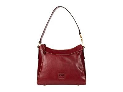 Dooney & Bourke Florentine Classic Large Cassidy Hobo (Bordeaux) Hobo Handbags