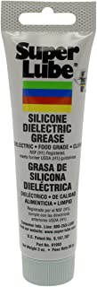 Super Lube 91003 Silicone High-Dielectric and Vacuum Grease, 3 oz.