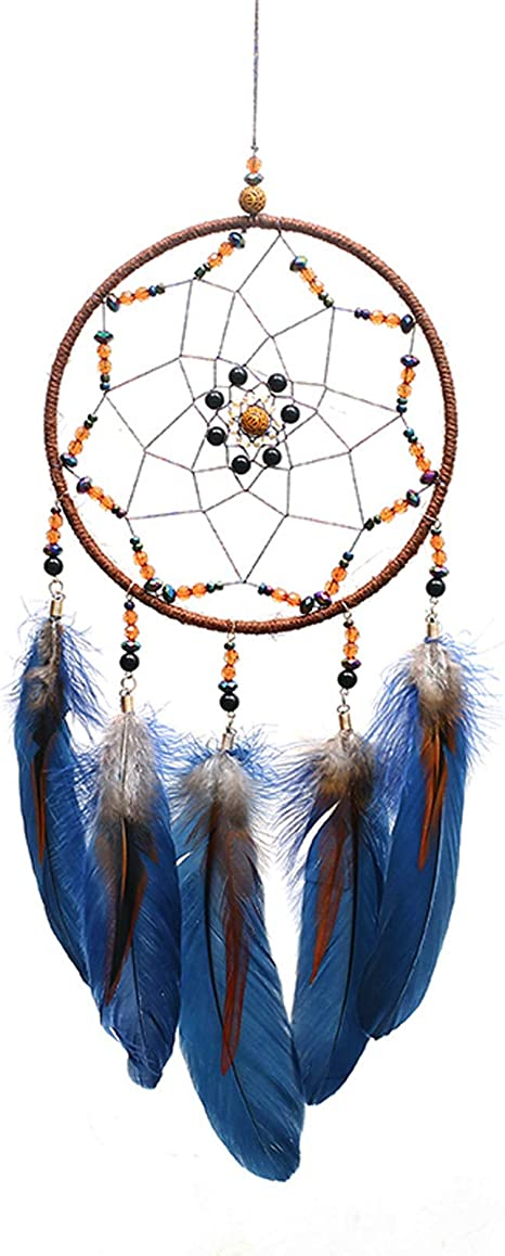 Details about  /Boho Dream Catcher Feather Dreamcatcher Craft Ornament Gifts Wall Hanging Decor