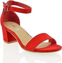 selezione migliore 6eec0 0849a Amazon.it: Sandalo Rosso Donna