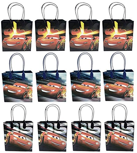 24PC Disney Cars Goodie Bags Party Favor Bags Gift Bags