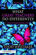 What Great Teachers Do Differently: Nineteen Things That Matter Most PDF