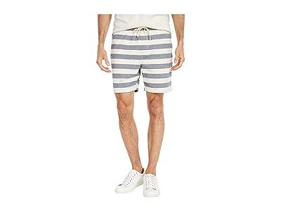 J.Crew Dock Shorts in Nautical Stripe (Navy/Ivory) Men