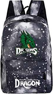 Dragon Coolcool-Backpack Student Daypack Laptop Bag College Bag Fashionable 3D DIY Lightweight Large Space Anti-Dirt Schoolbag-5