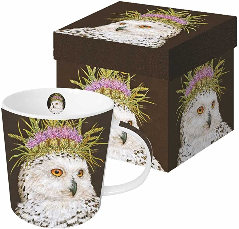 Paperproducts Design Featuring The Art Of Vicki Sawyer Snow Queen Gift Boxed New Bone China Mug Multicolor 13 5 Oz