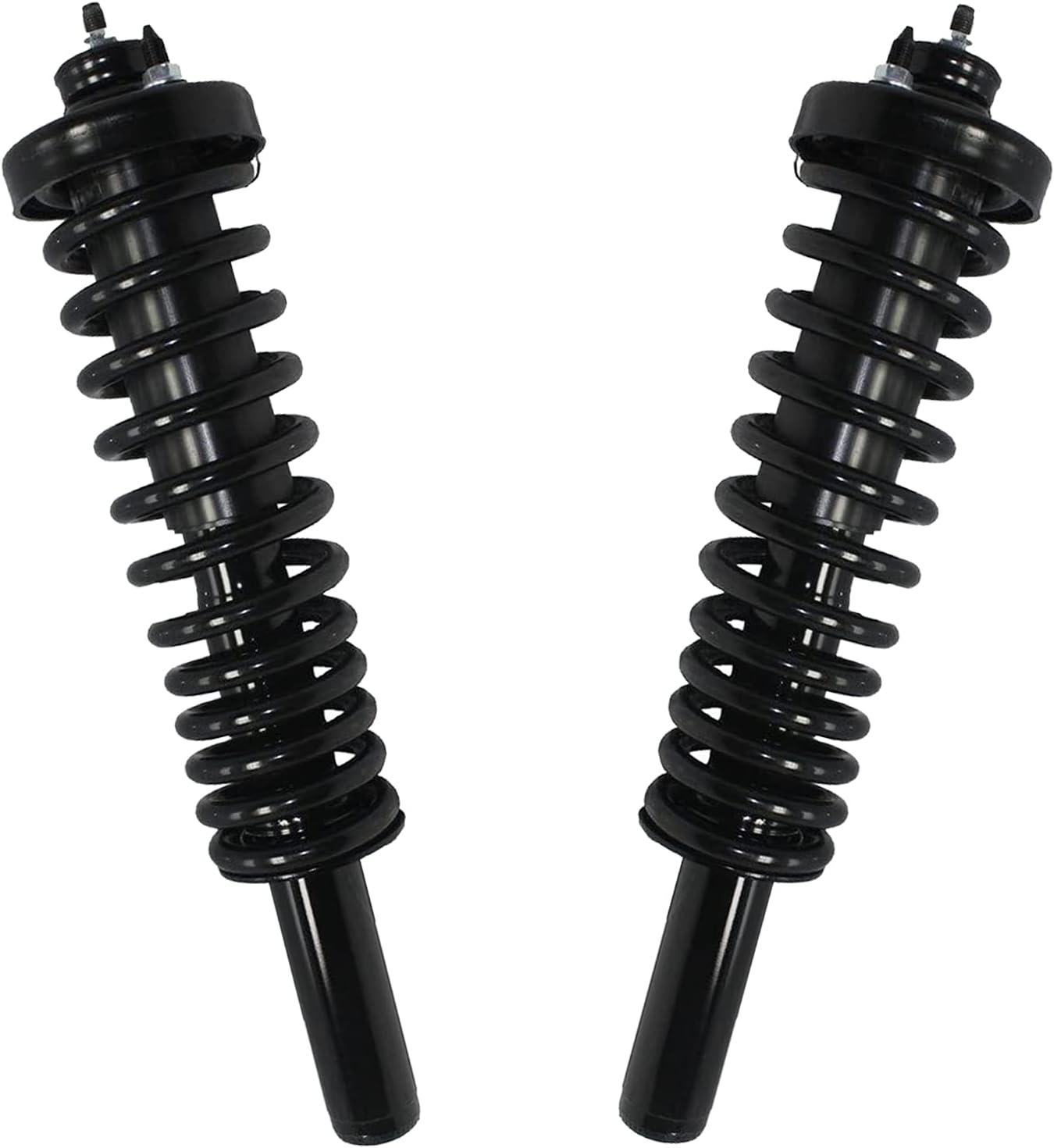 Detroit Axle - Front Strut  Coil Spring Assemblies Replacement
