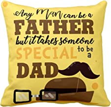 YaYa cafe Fathers Day Special Special Dad Cushion Cover - 12X12 inches