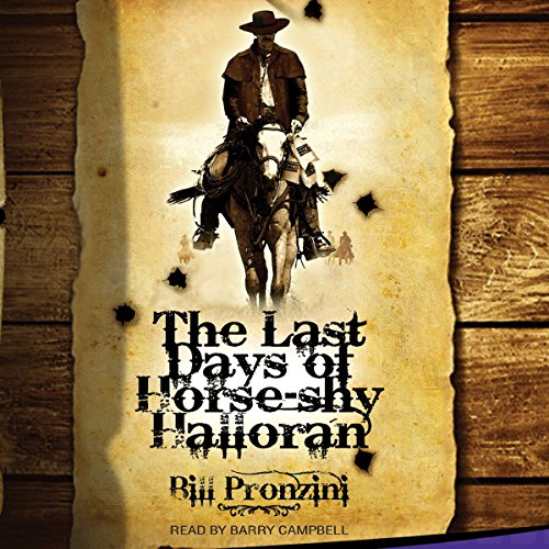 The Last Days of Horse-Shy Halloran audiobook cover art