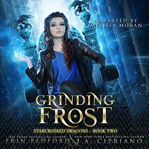 Grinding Frost: A Reverse Harem Dragon Fantasy audiobook cover art
