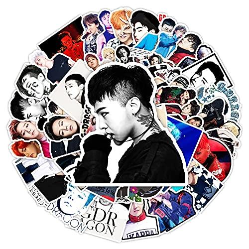 YOUKU Hot Big Bang Quan Zhilong Graffiti Superstar Idol Sticker DIY Suitcase Tablet Laptop Phone Guitar Sticker Sticker 50Pcs