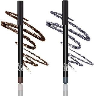 BaeBlu Natural Hypoallergenic Eyeliner Pencils, Brown & Smoke Pack