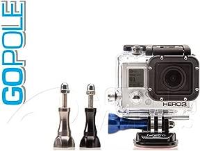 GoPole gpts-t-4–Aluminium Screw Series for GoPro Hero, Silver