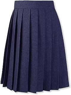 Pleated Skirt - Navy, 18