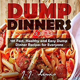 Dump Dinners audiobook cover art