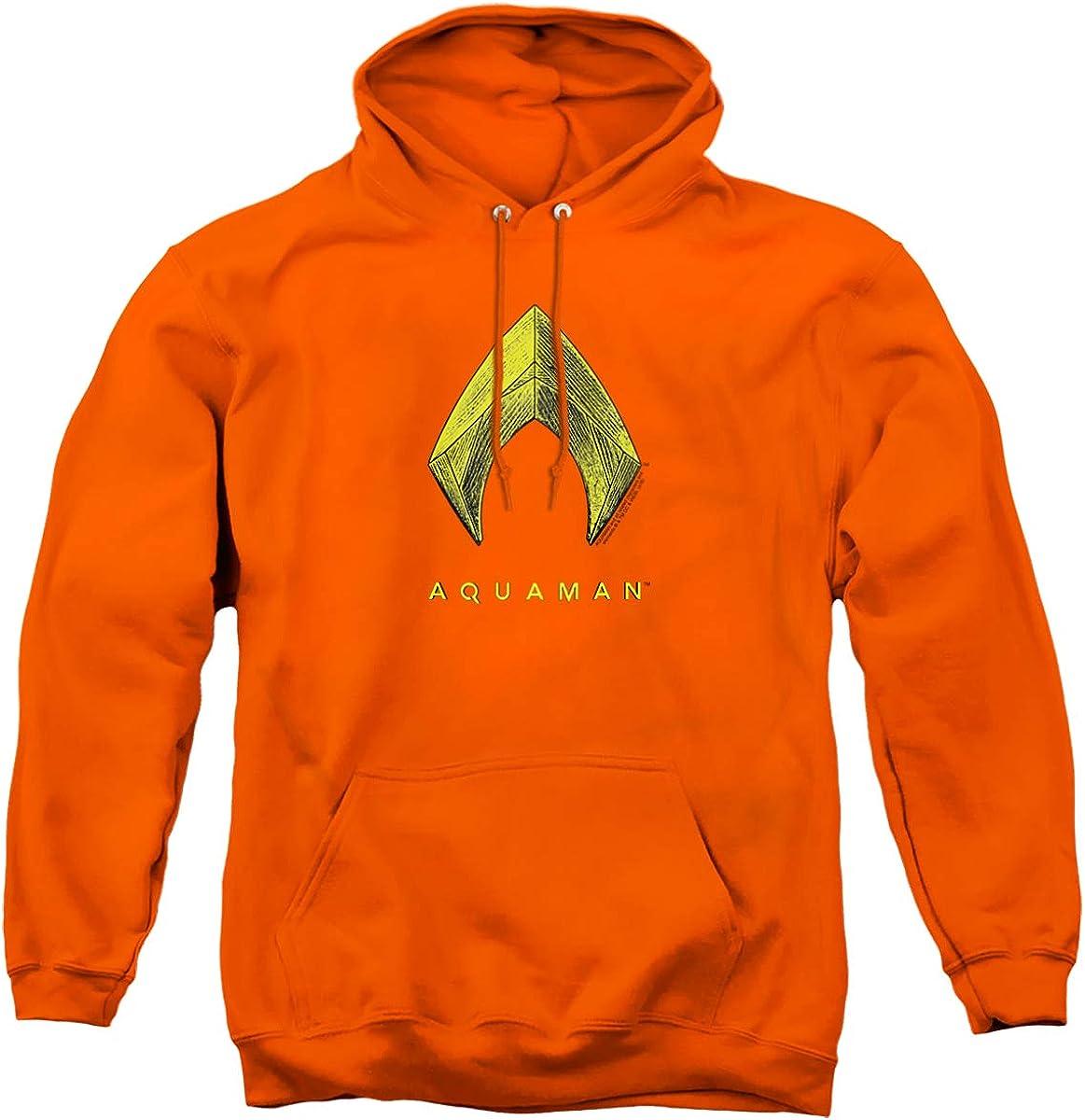 Aquaman Movie trust Logo Unisex Pull-Over Hoodie Adult Manufacturer regenerated product
