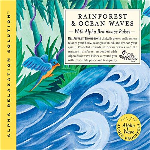 Rainforest & Ocean Waves audiobook cover art
