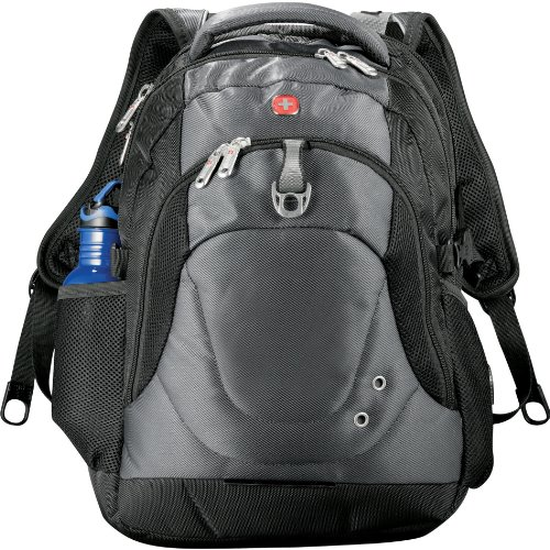 """Wenger Tech 15"""" Computer-Backpack - CHARCOAL"""