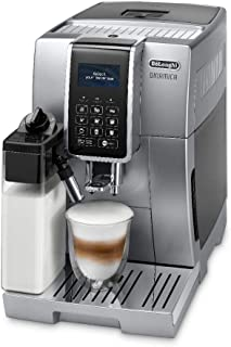 De'Longhi Dinamica Fully Automatic Coffee Machine, ECAM 350.75.S, Silver -UAE Version