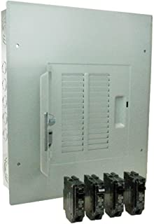 GE PowerMark Gold 125 Amp 12-Space 24-Circuit Main Lug Indoor Load Center Contractor Kit