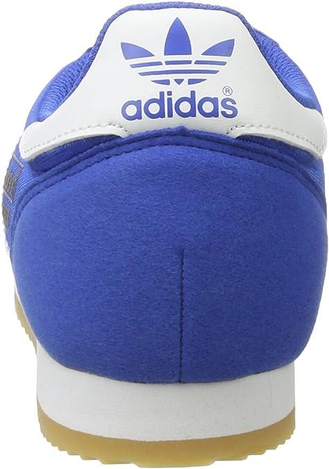adidas Dragon OG, Baskets Basses Homme, Bleu (Blue/Ftwr White/Gum ...