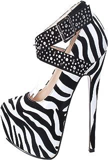 Best zebra print high heels Reviews