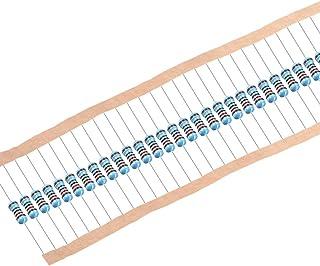 1//4 vatios 120K Ohm Resistencias de película de carbono 5/% tolerancias 0.25W 500 un 4 Banda De Color