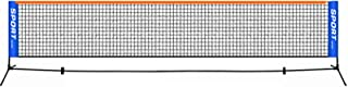 Portable Tennis Net Set, Training Portable Tennis, with Stand/Frame and Carry Bag, Easy Installation, for Indoor,Outdoor C...