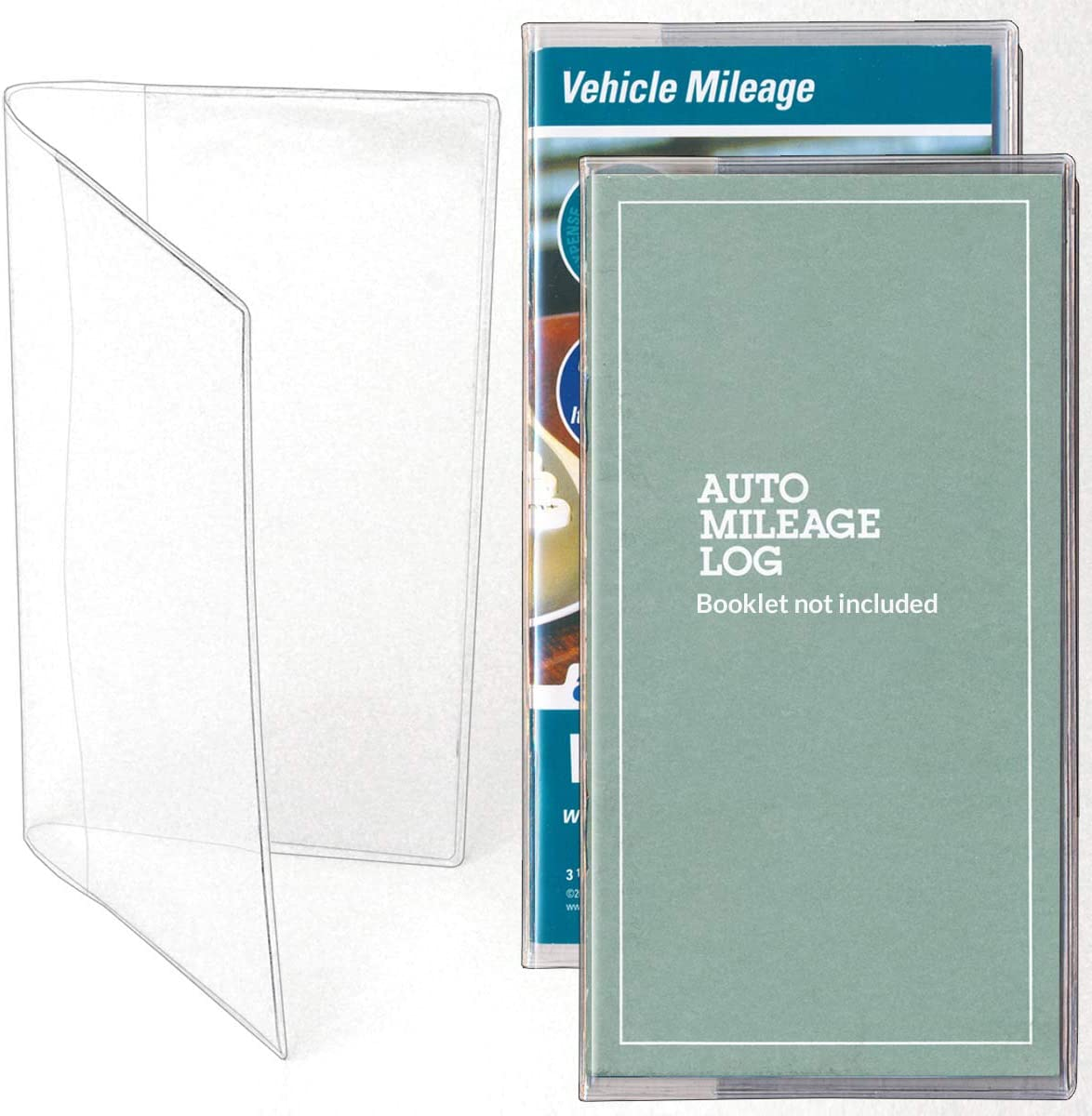 StoreSMART Plastic Cover for We OFFer at cheap prices Vehicle Journal 300-Pack - [Alternative dealer] Mileage