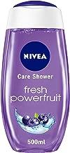NIVEA Fresh Powerfruit Shower Gel, Antioxidants, Blueberry Scent, 500ml