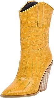 : Jaune Oxfords et Derbies Chaussures plates